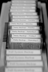 Daily Rotating Backup Tapes
