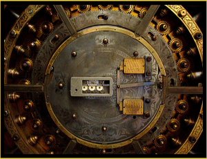 Photo Credit: SaltyIrishDog @ Deviantart - Vault, Security, AES Encryption, Enveloc